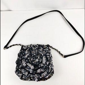 🍂Betsy Johnson/ Betsyville Flower Crossbody Bag